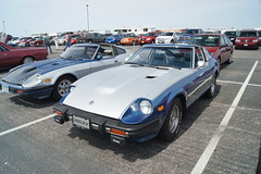 81 Datsun 280ZX (DVS1mn) Tags: new london cars car silver brighton antique anniversary run era brass 26th nlnb nlnbacr