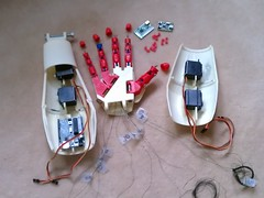 The Insides version 1 pic 2 (bstott) Tags: hand arm fingers right assembly inmoov