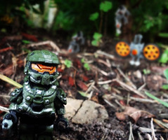 Halo 4 - Requiem (MGF Customs/Reviews) Tags: lego chief 4 halo master requiem 343 promethean