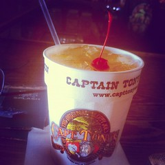 """Pirate punch at captain Tony's .. Two hours on a jet ski just boosted endorphins.. • <a style=""""font-size:0.8em;"""" href=""""https://www.flickr.com/photos/62467064@N06/7781964774/"""" target=""""_blank"""">View on Flickr</a>"""