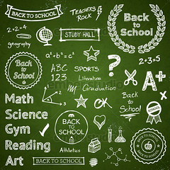 Back-to-school hand-drawn elements (Ember Studio) Tags: school white black green art sports sign modern illustration typography reading design sketch chalk education graphic classroom board text banner graduation style icon science grade teacher study doodle trendy math font type equation write lettering concept written drawn conceptual chalkboard gym vector scroll backtoschool scribble bold handdrawn typographic physed designelement honorroll
