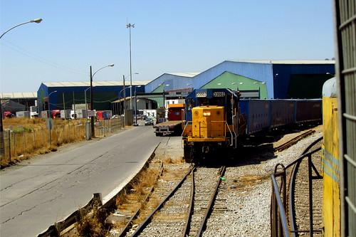 Trenes del puerto