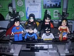 DC Heroes (DupontAARP2448) Tags: woman robin wonder tim justice lego wayne superman batman drake league damian nightwing