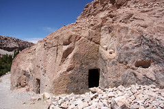 Cave dwelling, Valle Verde, Chile (sensaos) Tags: chile travel america de san chili desert south pedro atacama desierto cave amerika region 2012 zuid dwelling sensaos