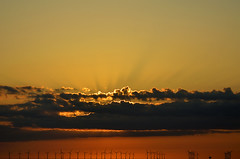 SUNRISE OVER BOTANY BAY  (105) (DESPITE STRAIGHT LINES) Tags: uk morning sea england sky cliff cloud sunlight seaweed beach wet water silhouette rock clouds sunrise dawn bay coast boat chalk kent seaside am sand nikon rocks day waves ship power cloudy sandy tide shoreline silhouettes wave vessel cliffs coastal shore coastline botanybay tidal windfarm goldenhour turbines firstlight broadstairs thegoldenhour offshorewindfarm botanybaykent d7000 nikon18105mmvr nikongp1 botanybaybroadstairs nikond7000 sunriseoverbotanybay botanybayuk