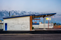 1046 East Broadway (bugeyed_G) Tags: arizona southwest classic station architecture modern clouds vintage nikon tucson broadway corridor monsoon historical americana service 45mm midcentury mcm tiltshift pce lowpitchedroof bugeyedg historicpreservationfoundation