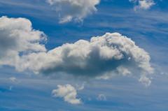 Stay Puff (StoiKNA) Tags: blue sky ontario clouds background pickering rougehill rougebeach d7000 torontophotowalks topwprw