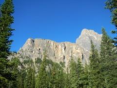 Castle Mountain cliffs on way to way to Helena Ridge (benlarhome) Tags: mountain canada rockies nationalpark hiking path walk hike trail alpine alberta rockymountain banff scramble castlemountain scrambling helenaridge rockboundlake towerlake