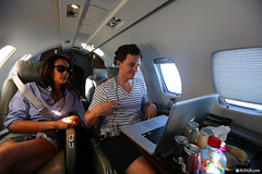 The best way to go, quiet and plenty of laptop-time. (Rudgr) Tags: music house set private dance dj space jet grand ibiza perform edm 2012 nationalgeographic natgeo privatejet mixmag fedde spaceibiza electronicdancemusic feddelegrand rutgergeerling rudgrcom