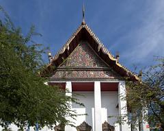 Wat Prayurawongsawat Wiharn Gable (DTHB1197) วัดประยุรวงศาวาสหน้าต่างพระวิหาร