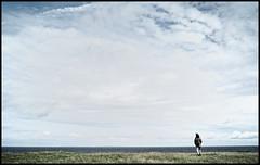 (Eric Kadijevic) Tags: sea mer clouds denmark liberty solitude alone horizon free libert bigsky nuages marche danemark