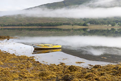 Loch Eil Reflections (Nick Atkin) Tags: trees sky mountains nature water clouds reflections landscape scotland rocks locheil