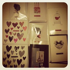 handmade cards (kirstran) Tags: birthday paris bird art birdcage girl vintage pretty heart head handmade picture eiffel card bow cameo greetings crafty craftfair crafted rankidoodle