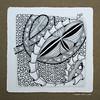 scales (shebicycles) Tags: monochrome pen pencil tile square doodle zentangle