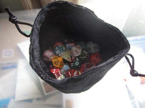 Dan's dice bags