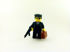 OMC Hitman (bugboy3000) Tags: lego brickarms zombielego brickwarrior brickarmy brickarmycom brickwarriors legozombiebrickarmsbrickwarriorsbrickarmycomafollegozombie