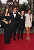 Domenico Dolce, Bianca Brandolini d'Adda, Stefano Gabbana and Monica Bellucci at The GQ Men of the Year Awards 2012
