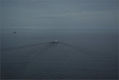 Westbound (joeldinda) Tags: boat yacht barge mackinac mackinaw straitsofmackinac joeldinda 1v1