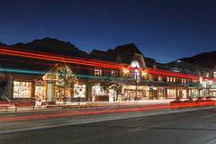 Banff traffic (seryani) Tags: longexposure trip viaje light summer vacation naturaleza mountain holiday canada mountains nature night america canon landscape rockies outdoors noche town nationalpark twilight lowlight amrica scenery holidays traffic outdoor dusk pueblo august paisaje agosto alberta verano northamerica banff rockymountains lighttrails te bluehour montaa vacations vacaciones smalltown canad montaas 2012 banffavenue banffnationalpark rocosas canadianrockies parquenacional airelibre largaexposicin canadianrockymountains canonef2470f28l norteamrica canon2470 montaasrocosas banffave horaazul canonef2470 canoneos5dmarkii parquedelanaturaleza 5dmarkii canadarockymountains august2012 summer2012 montaasrocosasdecanad verano2012 agosto2012 vacaciones2012 parquenacionaldebanff