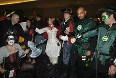 178 - Medieval Super Heroes (ladycynamin) Tags: costume comic greenlantern dragoncon harleyquinn 2012