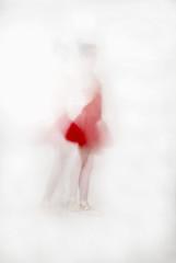 (hellorosy (:) Tags: lighting portrait ballet white lake motion blur colour film digital self canon studio flow dance swan movement slow body dancer shutter flowing analogue delicate softbox tutu speeds physical alienskin teathered