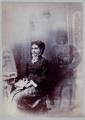 Spirit Photo (flickr flame) Tags: photo image spirit ghost illusion medium cabinetcard