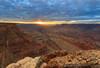 Peaking Through (Paul3221) Tags: sunset arizona canon desert grandcanyon az np 1740l 5dii