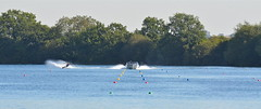 Lake (photo by marko) Tags: lake water nikon waterskiing nikkor 70200 slalom waterski 2012 swerve 70200f28 waterskier 7020028 lound 70200f28vr slalomcourse d7000 nikond7000 70200vrii 70200f28vrii photobymarko