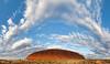 Panoramic view of Uluru (Massimiliano e Paola - Wildplanet.it) Tags: clouds flickr au australia panoramic photomerge uluru aus northernterritory ayersrock wwwmassimilianoeleotacom tipologiadiscatto