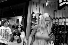Is there a smartphone application to manage my naughty little girl ? (Loc BROHARD) Tags: street portrait blackandwhite bw woman girl face photography women child expression candid streetphotography streetportrait stranger blond candidportrait
