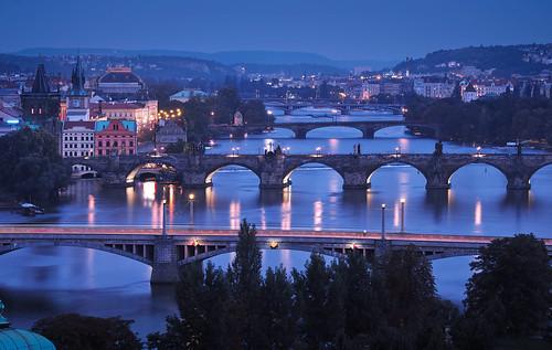 Prag_Moldaubrücken