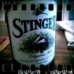Stinger Beer (clogette) Tags: beer ale dorset rivercottage retrocamera hallwoodhouse flickrandroidapp:filter=none