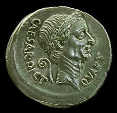 denarius julius caesar by Jennifer Mei, on Flickr