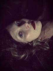 #330 (emifly) Tags: portrait look self head strangle desire femmefatale selfie