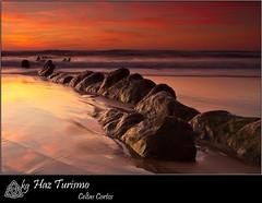 Haz turismo (kgorka) Tags: sunset seascape beach canon landscape atardecer sigma playa paisaje kata turismo bizkaia hitech euskadi vizcaya basquecountry manfrotto barrika flysch eos7d flickaward gorkabarreras canonikos