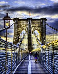NYC Brooklyn Bridge in Morning Light (Singing With Light) Tags: city nyc ny photography pentax manhattan july september brooklynbridge 2012 k5 jjp singingwithlight brooklynbridge2012jjpk5nynycsingingwithlightcityjulymanhattanpentaxphotographyseptember