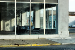 Edw. Hopper's Couch (TooLoose-LeTrek) Tags: street building window hamtramck detroit couch abandon barren hs30