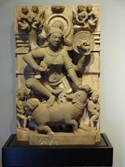 Mahishasuramardini (my-india) Tags: sculpture india history archaeology stone museum wales sand ancient sandstone asia south prince mumbai pradesh madhya mardini mahishasurmardini pihara gurjara