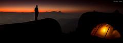 Curtindo o Silêncio (Waldyr Neto) Tags: camping sunset pordosol mountains acampamento serradaestrela montanhas petrópolis waldyrneto altodaventania