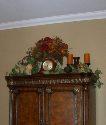 top of armoire
