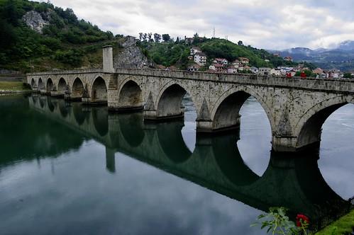 Босна и Херцеговина, Вишеград, мостът над Дрина