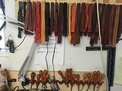 Studio visit to John Hagger at Tanner Bates (Institute of Making) Tags: tanner tannerbates leather leatherwork making craft devon dartington instituteofmaking materials