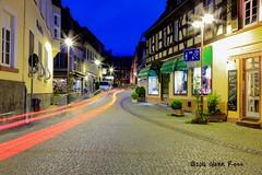 Rudesheim-0694 (glennrossimages) Tags: rdesheimamrhein hessen germany de blue hour city night light trails