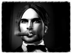 I hope a tux and a cigar will do it.... (Jos Loll) Tags: firestorm secondlife tuxedo tux cigar