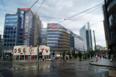 Oslo City (kfinlay) Tags: norway oslo city architecture tiltshift people
