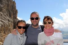 Denise, Alberto, Osefina. Sassolungo (Giorgio Pongiluppi) Tags: montagna sassolungo alpi