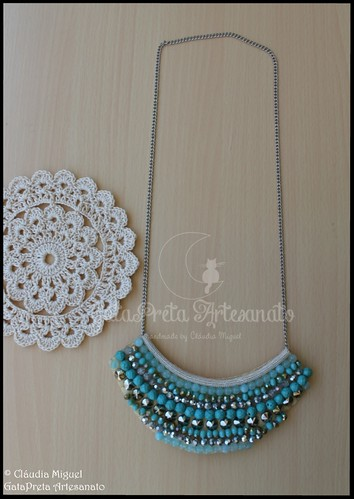 """Colar comprido """"Turquoise Love"""" (colecção Primavera-Verão 2016)"""