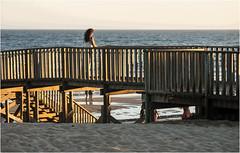 3767-PASARELA AL ATARDECER - ISLANTILLA- HUELVA - (-MARCO POLO-) Tags: atardeceres ocasos costas mares rincones ciudades