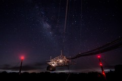 Milkyway. Arecibo Observatory (horaciovel) Tags: vialactea milkyway telescope observatory arecibo puertorico pr