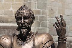 Don Quijote (Furanu) Tags: bjar salamanca elquijote sancho cervante teatro estatua figura cervantes